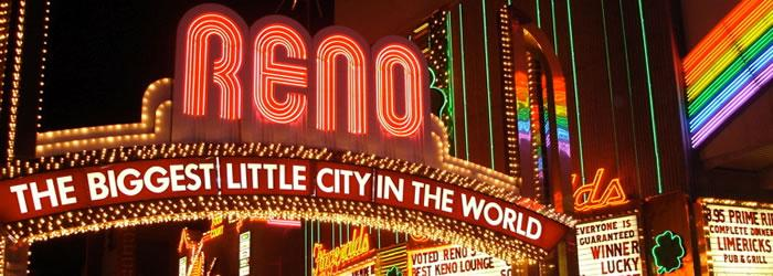 "Reno It's known as the ""Biggest Little City in the World"" for a reason -- because it is. Credit:  Wikipedia.org"